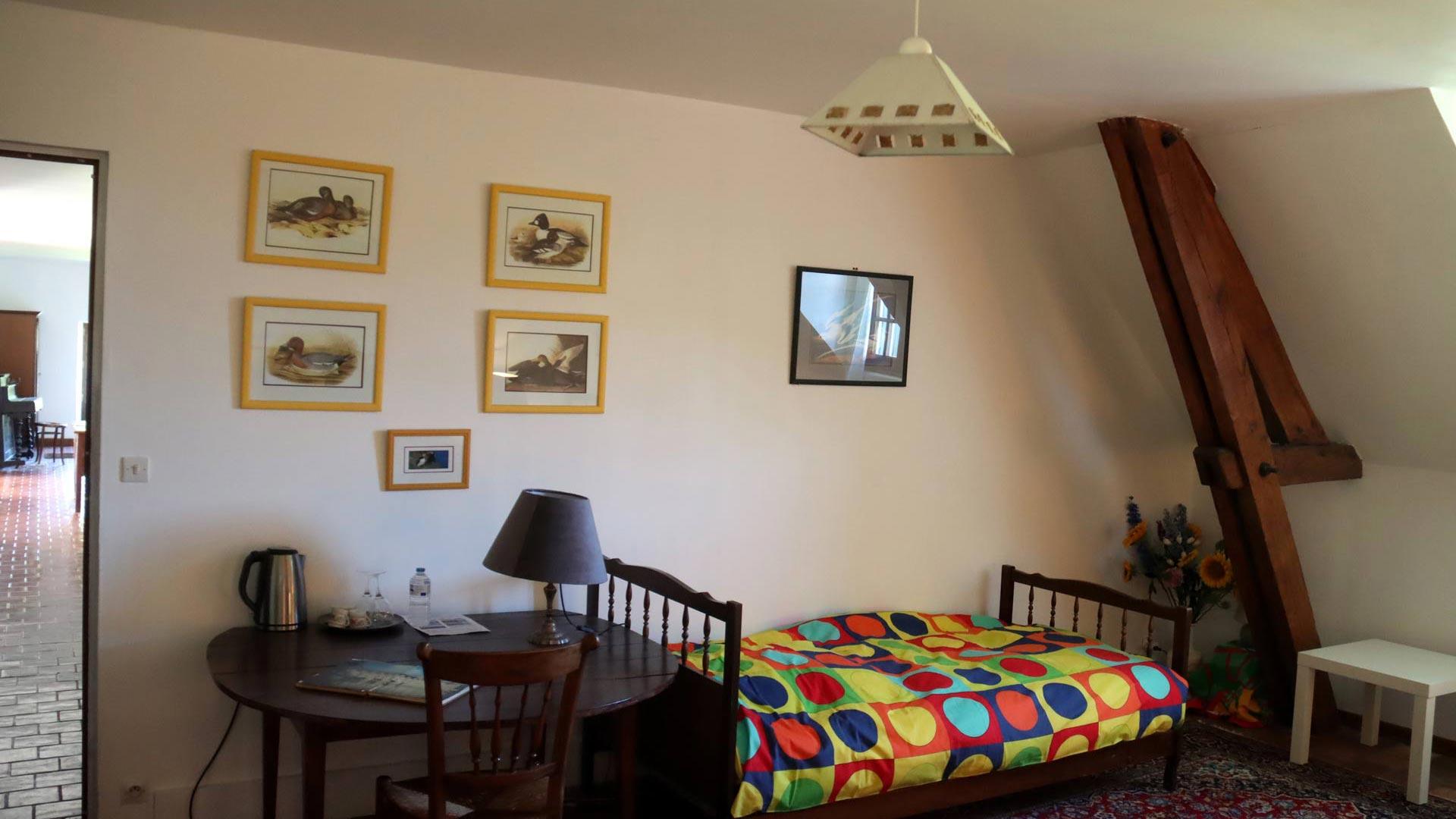 Chambre 3 hôtes Touraine